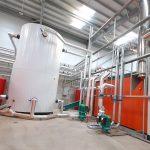 Galu biomass tank installed
