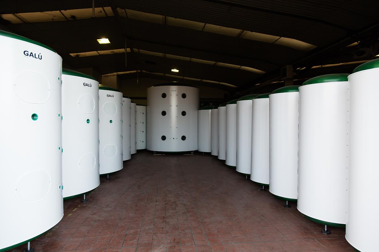 GALÚ produces a large range of tanks from 250 litres to 200,000 litres as standard. Products can be made to order to suit any range of installation variables